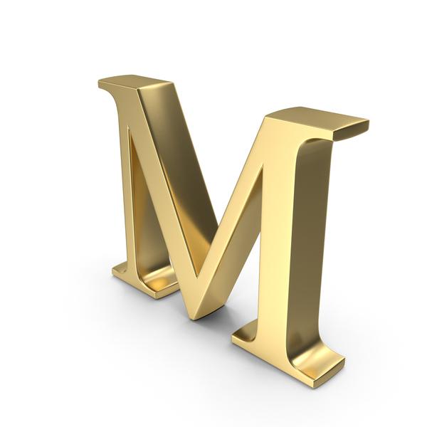 Alphabet Time's Roman M PNG & PSD Images