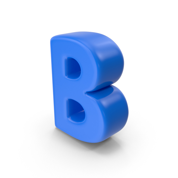Alphabet Toon B PNG & PSD Images