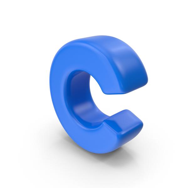 Alphabet Toon C PNG & PSD Images