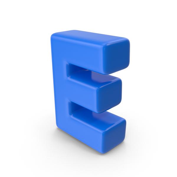Alphabet Toon E PNG & PSD Images