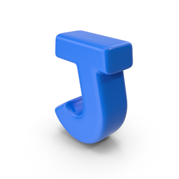 Alphabet Toon J PNG & PSD Images