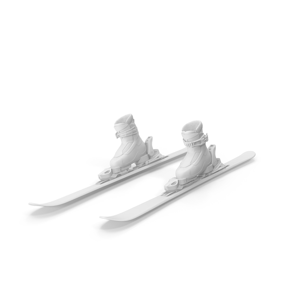 Alpine Skis Turning PNG & PSD Images