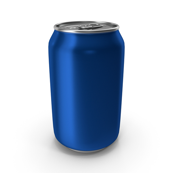 Aluminium Can 330ml Blue PNG & PSD Images