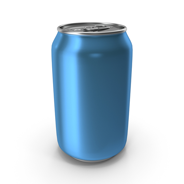 Aluminium Can 330ml Light Blue PNG & PSD Images