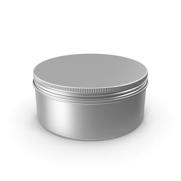 Tin Can: Aluminium Jar 150ml PNG & PSD Images