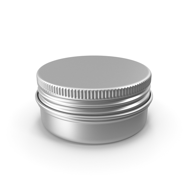 Tin Can: Aluminium Jar 15ml PNG & PSD Images