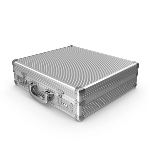 Aluminum Briefcase PNG & PSD Images