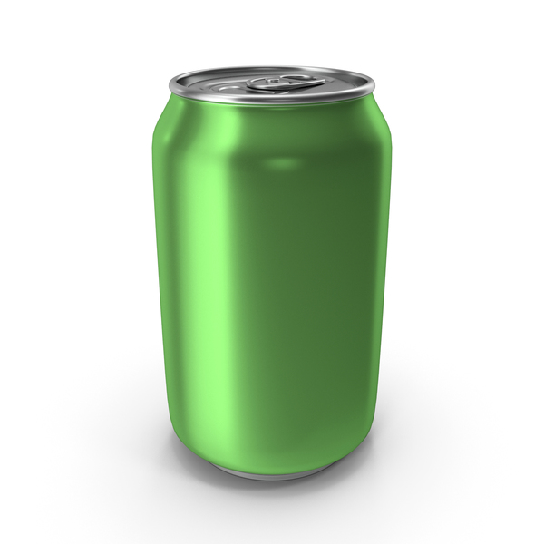 Aluminum Can 330ml Light Green PNG & PSD Images