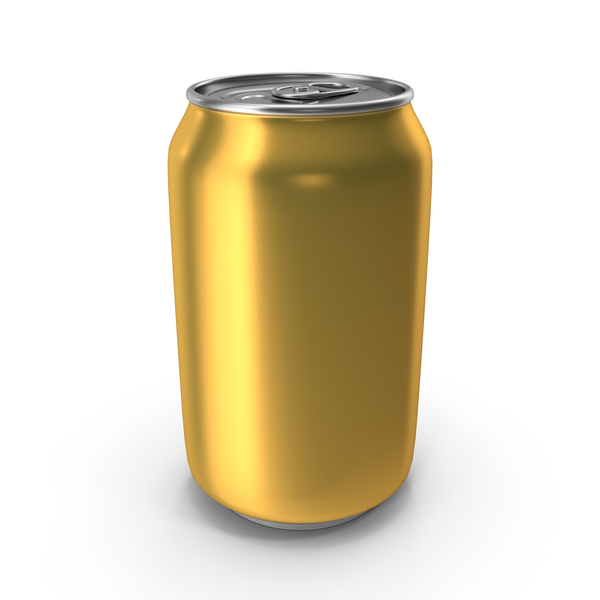 Aluminum Can 330ml Pastel Yellow PNG & PSD Images