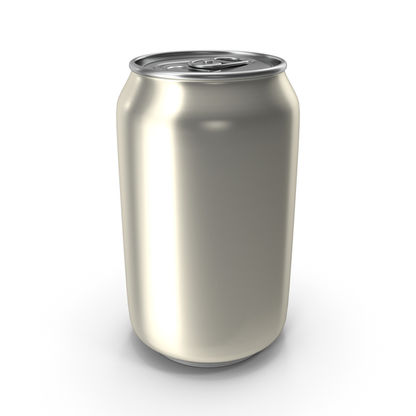 Soda: Aluminum Can 330ml Pearl White PNG & PSD Images
