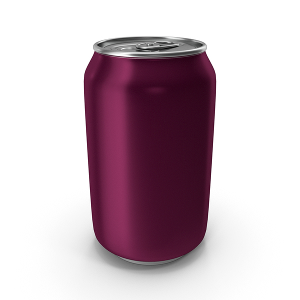 Aluminum Can 330ml Purple Violet PNG & PSD Images