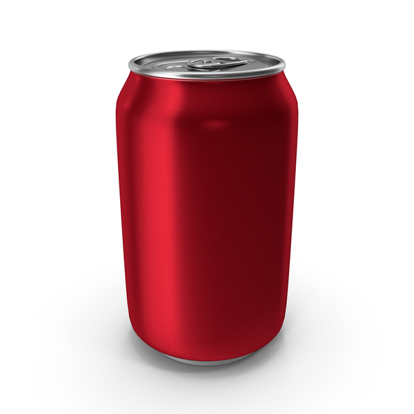Aluminum Can 330ml Red PNG & PSD Images