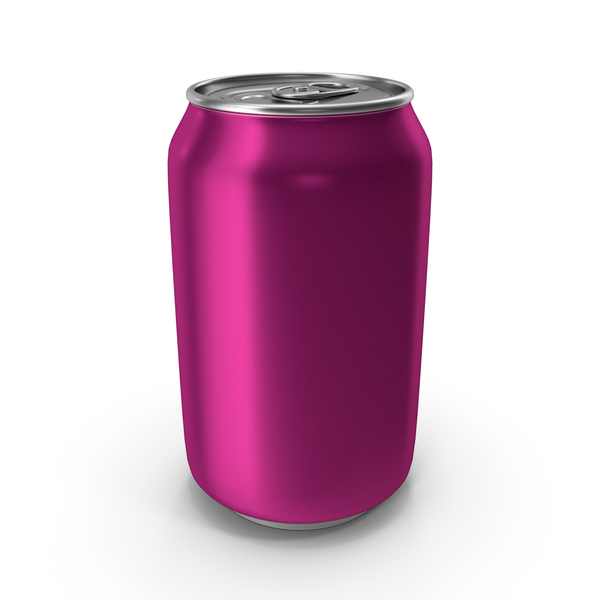 Soda: Aluminum Can 330ml Traffic Purple PNG & PSD Images