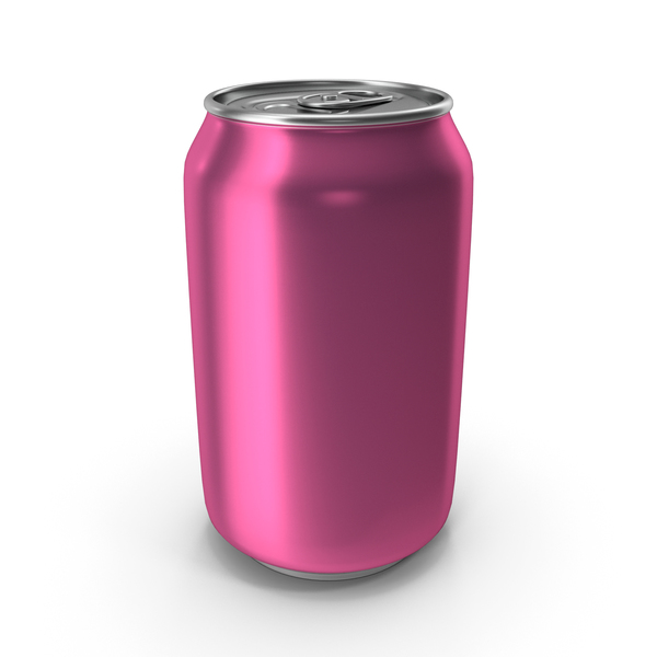 Soda: Aluminum Can 330ml Violet PNG & PSD Images