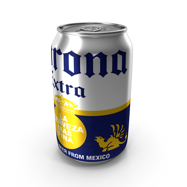 Beer: Aluminum Can Corona PNG & PSD Images