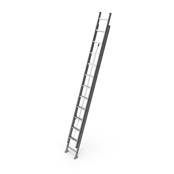 Aluminum Extension Ladder Object