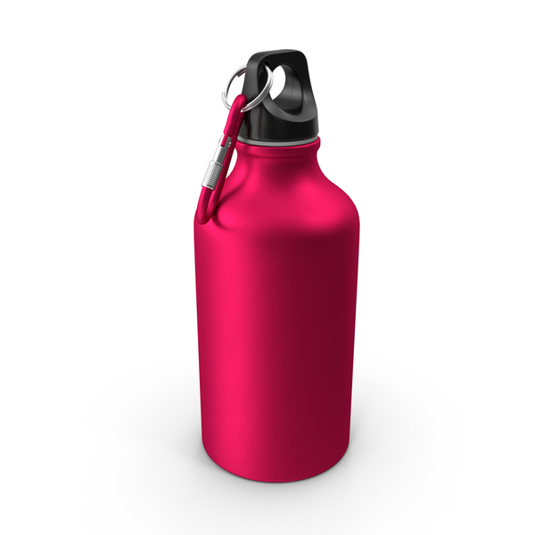 Aluminum Water Bottle 500ml PNG & PSD Images