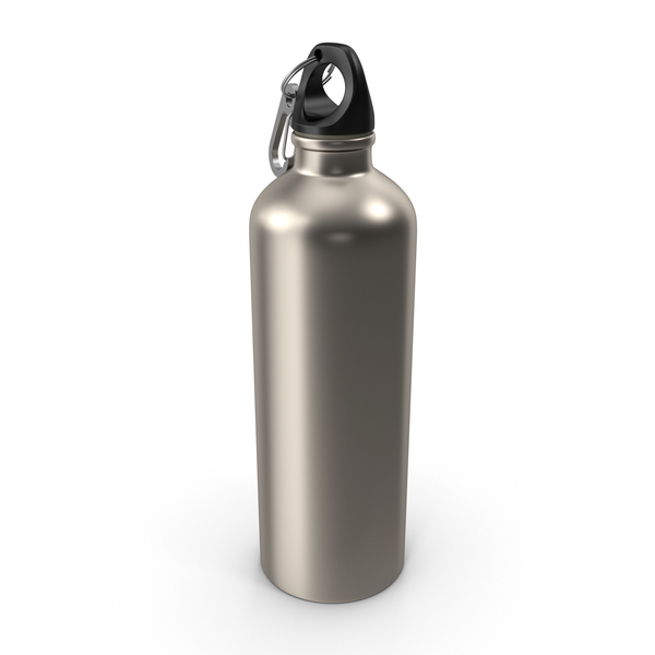 Aluminum Water Bottle PNG & PSD Images