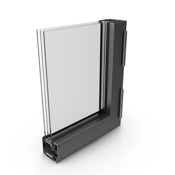 Aluminum Window Profile PNG & PSD Images