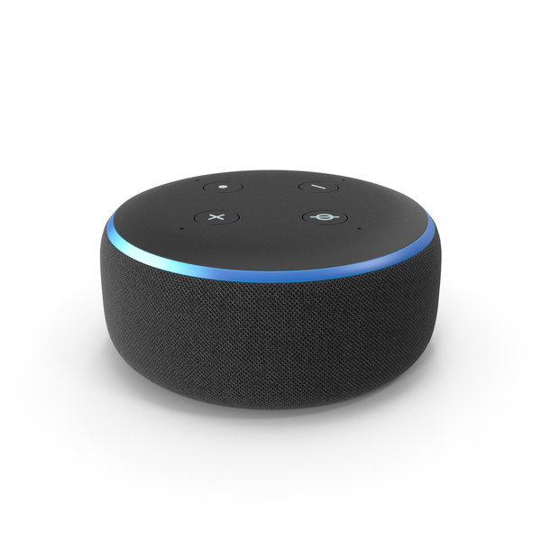 Smart Speaker: Amazon Echo Dot PNG & PSD Images