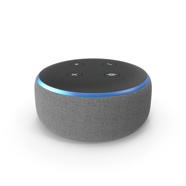 Amazon Echo Dot PNG & PSD Images