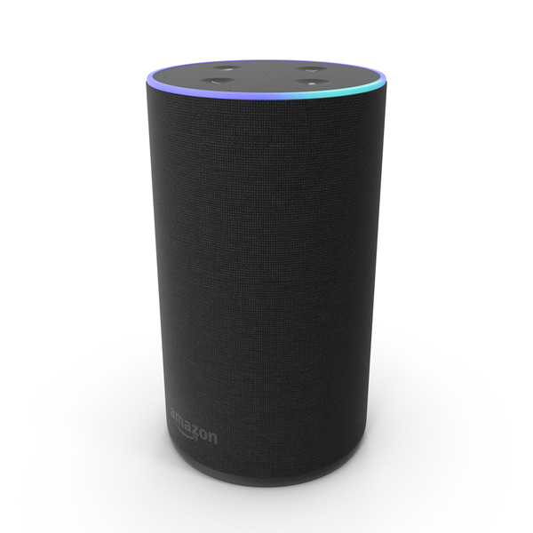 Amazon Echo New Black PNG & PSD Images