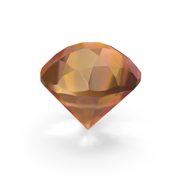 Amber Diamond PNG & PSD Images