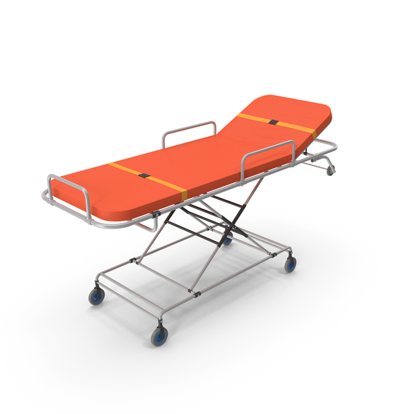 Rolling Stretcher: Ambulance Bed PNG & PSD Images