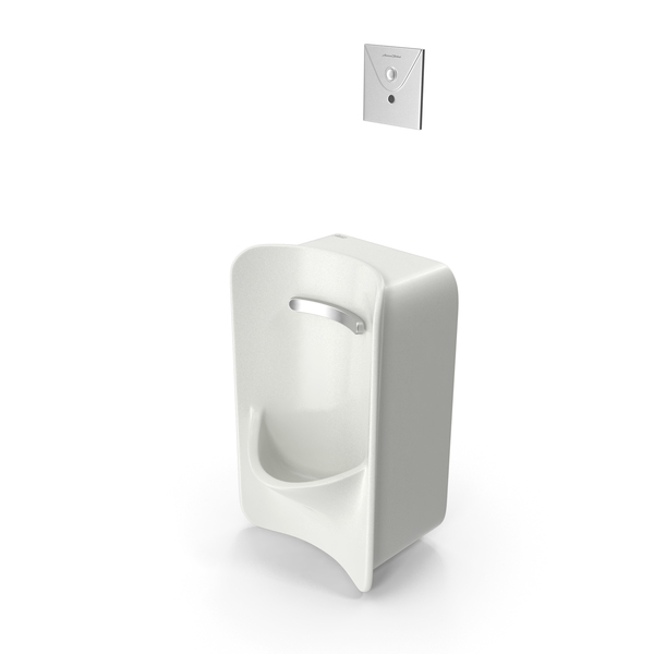 American Standard Greenbrook Rear Spud Urinal PNG & PSD Images