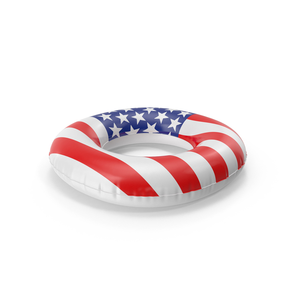 Raft: Americana Ring Pool Float PNG & PSD Images