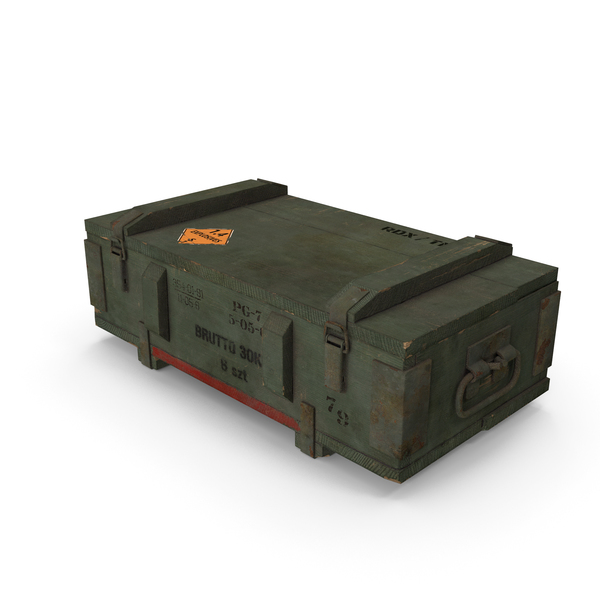 Ammo Crate PNG & PSD Images