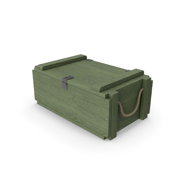Ammunition Box: Ammo Crate PNG & PSD Images