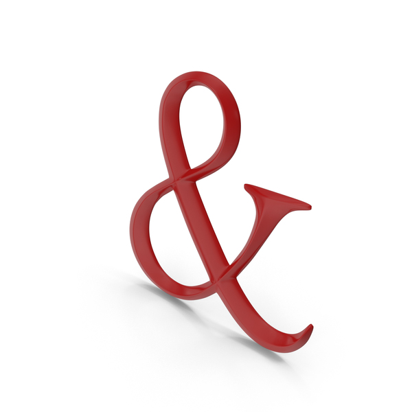 Punctuation: Ampersand PNG & PSD Images