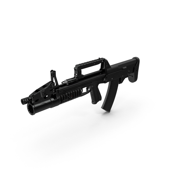 Amphibious Assault Rifle ADS PNG & PSD Images