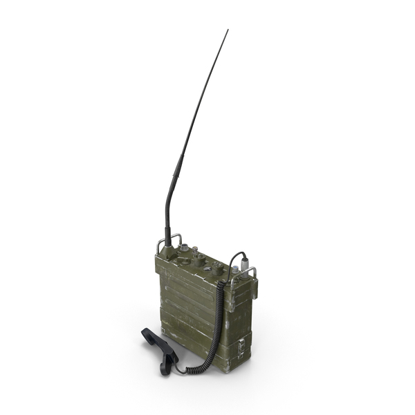 AN/PRC-77 Portable Transceiver (Communications Radio) Object