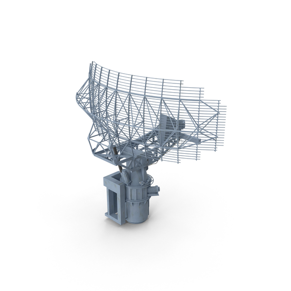AN-SPS-49 Radar Antenna PNG & PSD Images