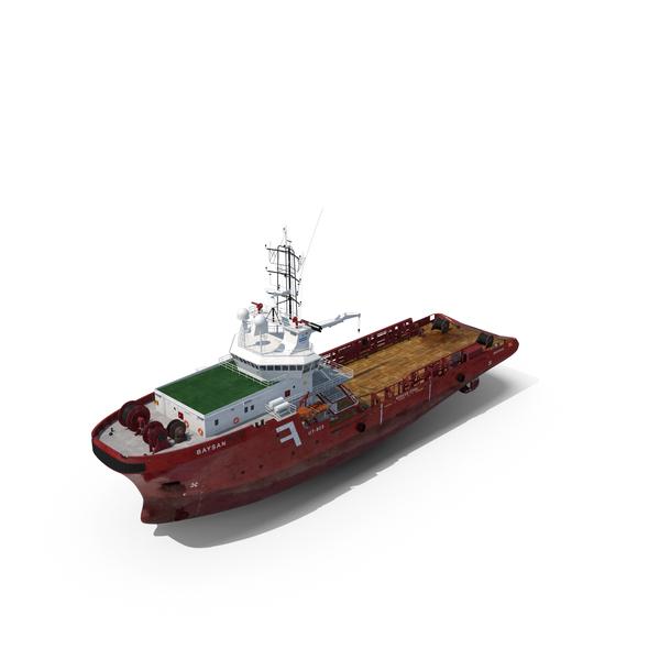 Anchor Handling Tug Supply Vessel AHTS PNG & PSD Images