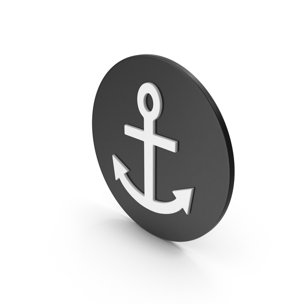 Industrial Equipment: Anchor Icon PNG & PSD Images