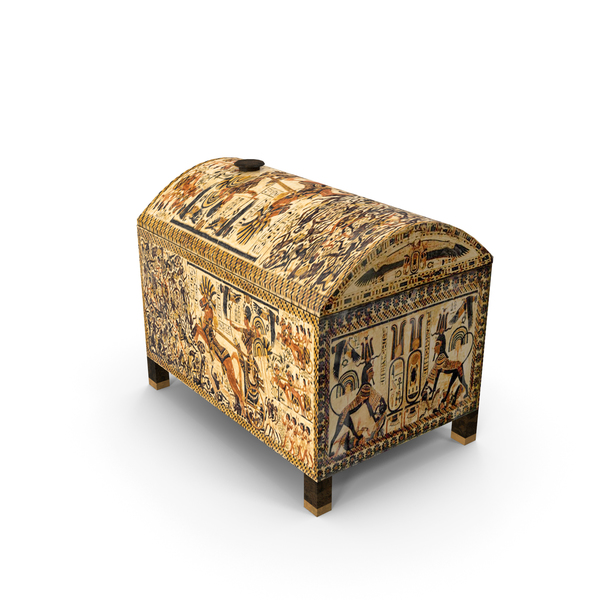 Ancient Egyptian Box PNG & PSD Images
