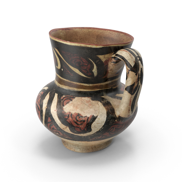 Ancient Saudi Pottery Carafe PNG & PSD Images