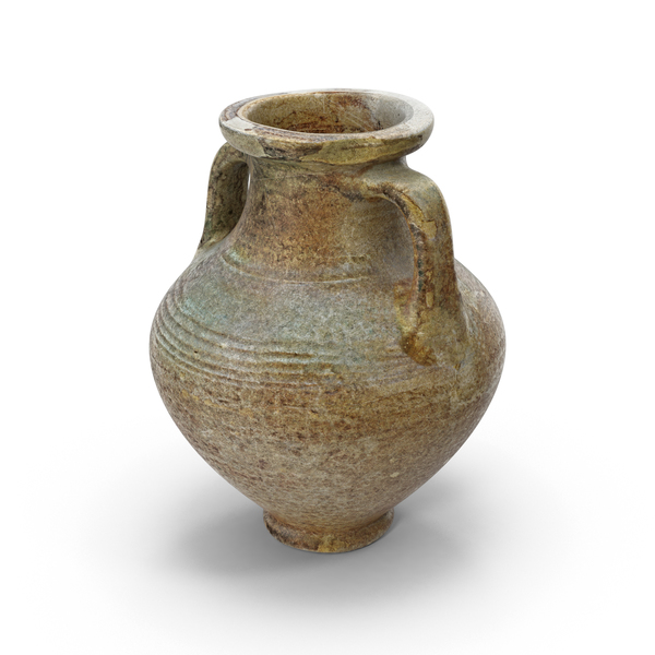 Ancient Saudi Pottery Jug PNG & PSD Images
