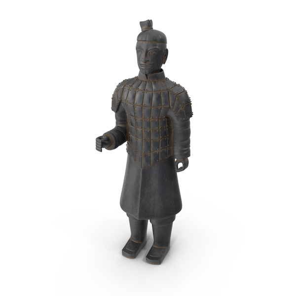 Ancient Warrior Statue PNG & PSD Images