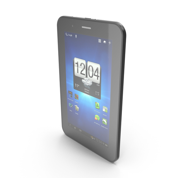 """Computer: Android little PC Tablet 7"""" PNG & PSD Images"""
