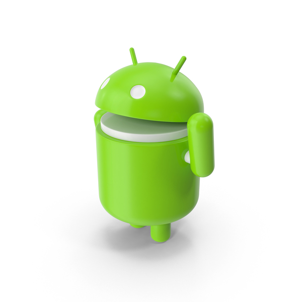 "Android Say ""Hello"" PNG & PSD Images"