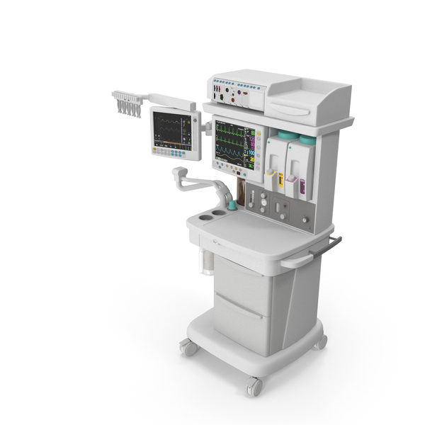 Anaesthetic Machine: Anesthesia System PNG & PSD Images