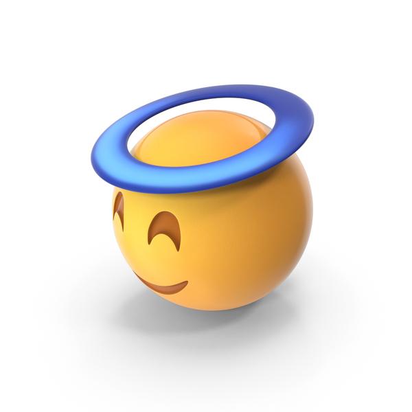 Angel Halo Emoji PNG & PSD Images