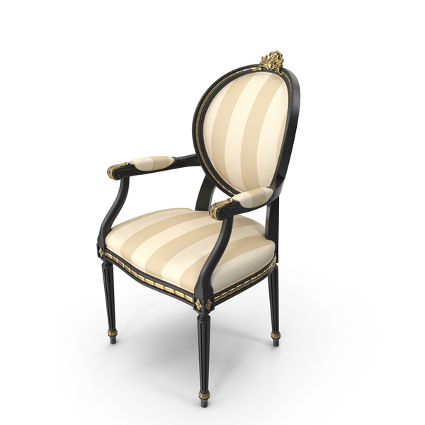Angelo Cappellini Cezanne Classic Dining Chair PNG & PSD Images