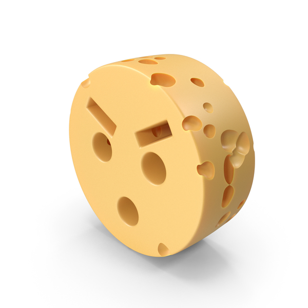 Anger Emoji Cheese PNG & PSD Images