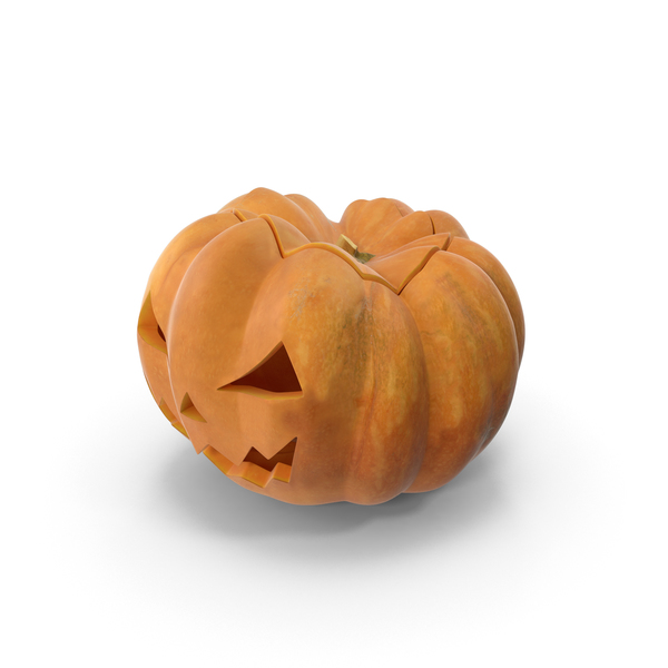 Angry Jack-o-Lantern PNG & PSD Images