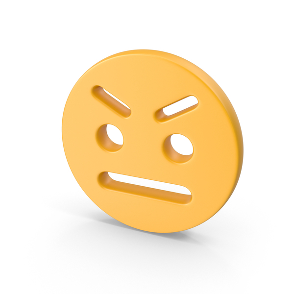 Angry Smiley Face PNG & PSD Images